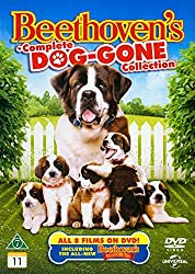 Beethoven´s Complete Dog-gone Collection [Region B Nordic] Beethoven Beethoven´s 2nd Beethoven´s 3rd Beethoven´s 4th Beethoven´s 5th Beethoven´s Big Break Beethoven´s Christmas Adventure Beethoven´s Treasure Tail Dvd