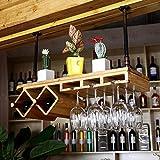 GLJ Weinglashalter des Festen Holzes hängendes umgekehrtes Weinregalhausweinglashalter Weinregale (Farbe : #2, größe : 80cm)