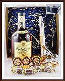 Geschenk Dalwhinnie 15 Jahre Whisky mit Flaschenportionierer + 10 Edel Schokoladen von DreiMeister & DaJa + 4 Whisky Fudge, kostenloser Versand