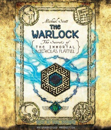 The Warlock: The Secrets of the Immortal Nicholas Flamel by Scott, Michael (2011) Audio CD