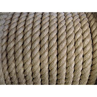 6mm Hemp Rope x 20 Metres