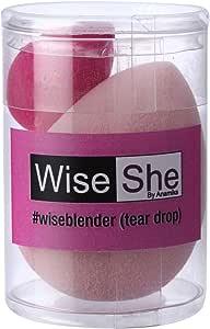 WISESHE Tear Shape Beauty Foundation Sponge Mini Blender
