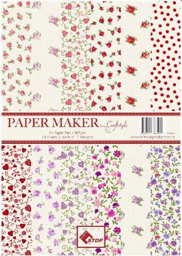 papermaker Pad-Cuori e Fiori (pm-pp003)