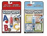 #8: Melissa and Doug Water Wow Bundle: Alphabet/Color & Shapes