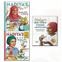 nadiya hussain nadiya's bake 3 books collection set - (nadiya's british food adventure,nadiya's bake me a story: fifteen stories and recipes for children,nadiya's bake me a story: world book day 2018(paperback))