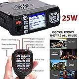 Sedeta MINI Baojie BJ-218 Mobile Radio Ricetrasmettitore mobile Dual Band 136-174Mhz / 400 / 480MHz Car walkie talkie + 3 pezzi o accessori