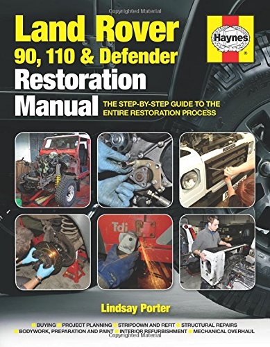 Land Rover 90, 110 And Defender Restoration Manual: Step-by-step guidance for owners and restorers (Haynes Restoration Manuals) -