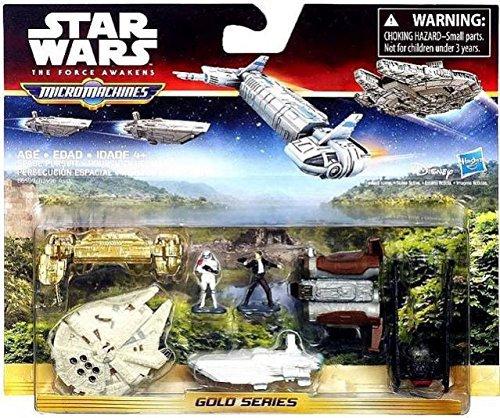 Usado, Star Wars Micromachines De La Fuerza El Despertar Dorado segunda mano  Se entrega en toda España