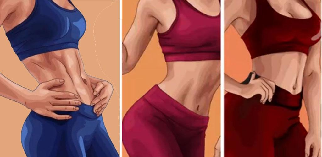 Einfache Übungsroutine, um ohne Übung schnell Gewicht zu verlieren