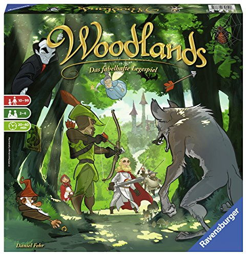 Ravensburger 26777 Woodlands, bunt