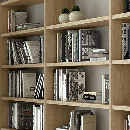 Wohnwand Bücherregal TOLEO238 Eiche Sonoma Nachbildung - 2