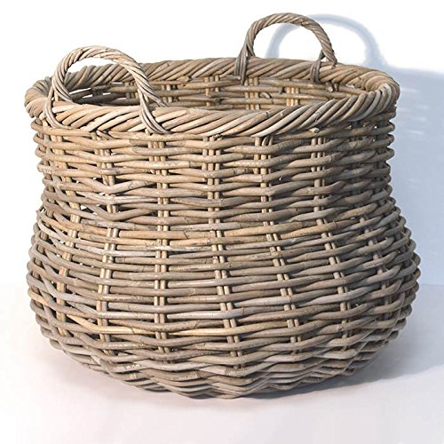 fireside-alibaba-round-wicker-log-basket-grey-large