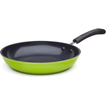 """Ozeri 8"""" Green Earth Frying Pan, with Textured Ceramic Non-Stick Coating from Germany (100% PTFE, PFOA and APEO Free)"""