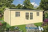 40 mm Gartenhaus Dianne ca. 578x450 cm