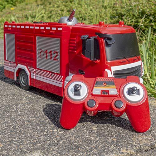 RC Auto kaufen Feuerwehr Bild 2: RAYLINE RC Feuerwehr Auto Car Ferngesteuerte Bus E572-003 Löschfahrzeug mit Wasserpumpe*