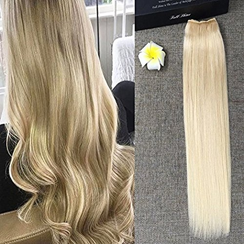 full-shine-20inch-straight-flip-in-remy-human-hair-extension-one-piece-blonde-100g-double-weft-mirca