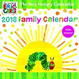 Hungry Caterpillar SQ Family Calendar with Stickers 2018