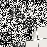 creatisto PVC Autocollant Stickers Oriental I Revêtement Mural adhésif pour Carrelage Salle de Bain - Décorer Faience Cuisine I Stickers carrelage (15x15 cm I 9 - Pièces)