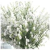 CLEARANCE! MEIbax künstliche gypsophila blühenden blume falsche seide hochzeitsfeier strauß home decor (Weiß)
