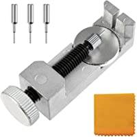 Zacro Kit di Riparazione Orologi Professionale, Strumento Riparazione Regolabile per Cinturino Braccialetto di Orologio…