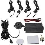 KKmoon - Kit d'aide au stationnement pour voitures (alarme + 4 capteurs) Tipo Zumbador