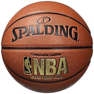 Spalding 64-617Z Basketbälle NBA Tacksoft Pro, 6