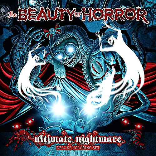 The Beauty of Horror: Ultimate Nightmare - Deluxe Coloring ()