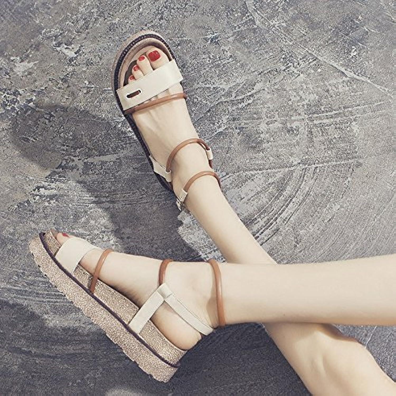 Amy Q - Zapatos de tacón  mujer 46 EU|naranja