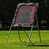Lacrosse Rebounder Net - Adjustable Angle Rebound Training To Improve Your Shots, Passing & Catching [Net World Sports]