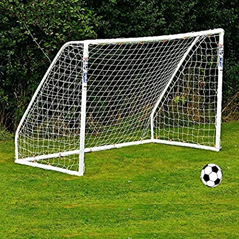 Full Size Football Goal Net Portable Soccer Replacement Net for Kids Junior Backyard Training Practice (8ft *