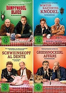 Eberhofer - 4 DVD Set (Dampfnudelblues + Winterkartoffelknödel + Schweinskopf al dente + Grießnockerlaffäre) im Set - Deutsche