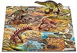 Schleich 42331 - Spielzeugfigur - Mini Dinos mit Puzzle Sumpfgebiet