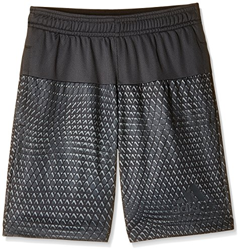 adidas Boys' Shorts (AJ6130_DKGREY/DKGREY-116_5-6 years)  available at amazon for Rs.629