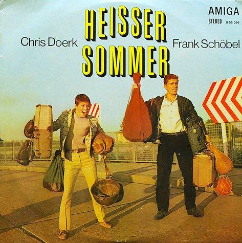 Chris Doerk und Frank Schöbel: Heisser Sommer. Soundtrack zum gleichnamigen DEFA-Film.(Schallplatte/ LP/ Album/ Vinyl)