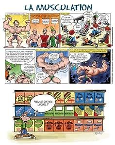 Les Prénoms en BD - Affiche - Les Sports en BD - Musculation