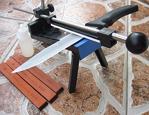 Super Praktisch Professionelle Küche Messerschärfer System Fix-winkel 4 Steine Besteck Küche - Messerschärfer Stein-küche