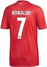adidas Fußball Real Madrid Ausweichtrikot 2018 2019 3RD Ronaldo 7 Herren Kinder