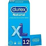 Durex Originele Natural Plus condooms maat XL - 12 grotere condooms