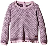 NAME IT Mädchen Pullover Whoopi Wool Kids Knit Top Girl 315, Gr. 116, Mehrfarbig (Fragrant Lilac)