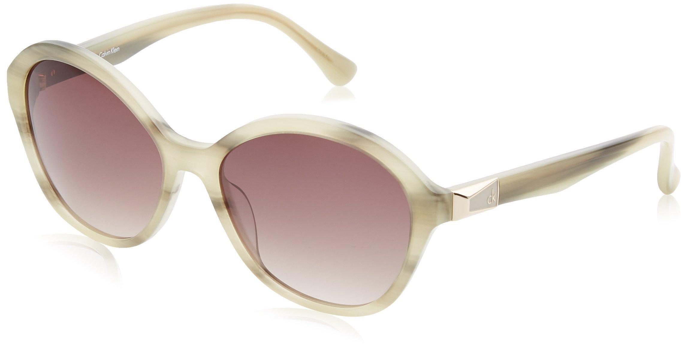 c46bf6003a ▷ Ofertas Calvin Klein Cat Eye, Gafas de Sol para Mujer, Beige, 56 ...