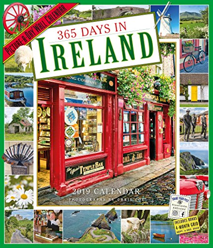 2019 365 Days in Ireland Picture-A-Day Wall Calendar