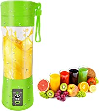 Mixer juicer Grinder by Leeonzi | Juice Blender Machine | USB juicer Bottle Blender Mixer | Fruit Juice Maker | Fruit juicer | Fruit juicer for Soft Fruits