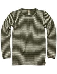 Ángel, niños camiseta manga larga, lana seda, tamaño 92–176, 6colores