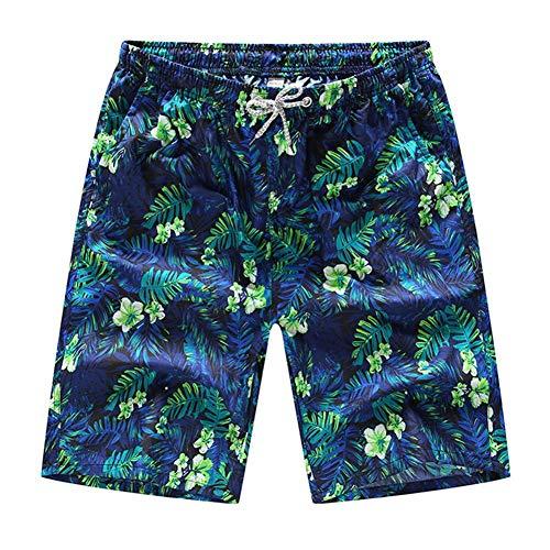 stripei Schnell trocknende Boardshorts der Männer gedruckt Strand Schwimmen tragen lässige Sommer Surfen Strand Hose Knielangen Hosen