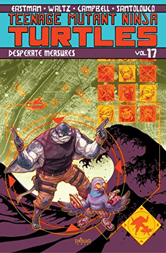 Teenage Mutant Ninja Turtles Volume 17: Desperate Measures Off Volume Control