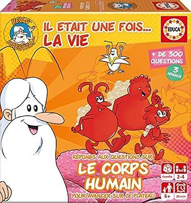 Educa Borrás - 17352.0 - Mini Jeu Il Etait Une Fois... La Vie