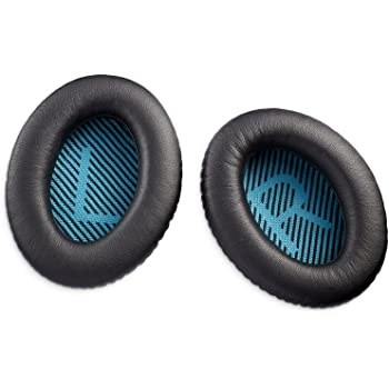 Bose® Kit di Cuscinetti per Cuffie QuietComfort 25, Nero