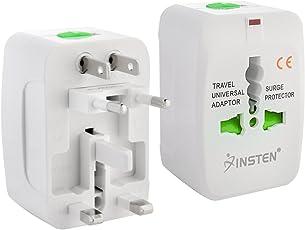Generic Europe/UK/US/China/India All In One Universal International Travel Adapter Plug Surge Protector