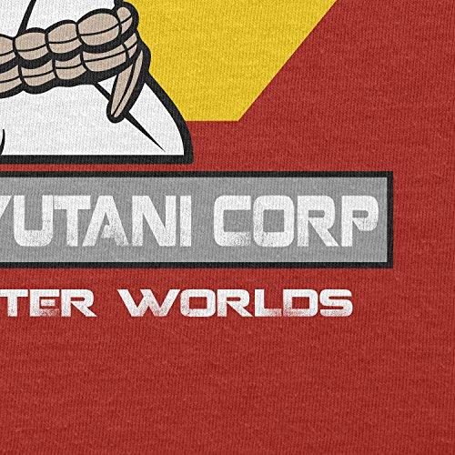 TEXLAB - Weyland Yutani Facehugger - Herren Langarm T-Shirt Rot