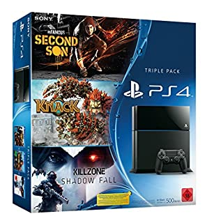 PlayStation 4 - Konsole inkl. Killzone: Shadow Fall, Knack und inFamous Second Son (B00IXLGX7W) | Amazon price tracker / tracking, Amazon price history charts, Amazon price watches, Amazon price drop alerts